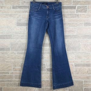 J Brand Jeans Love Story Flare In Decoy 29